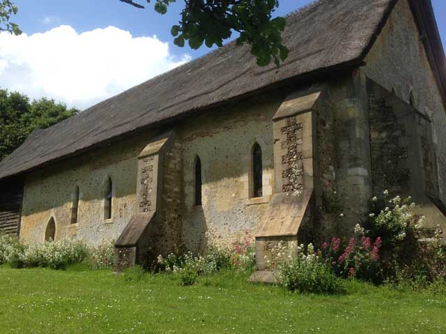 St Stephen's Chapel or Chapel Barn, Bures