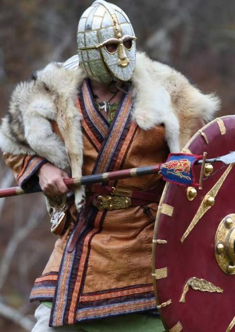 Raedwald Sutton Hoo helmet