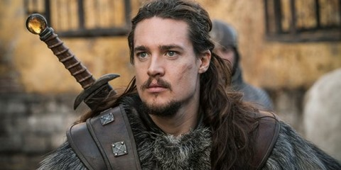 ALexander Dreymon playing Uhtred from Bernard Cornwell's The Last Kingdom