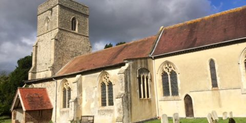St Mary's church, Lidgate, Suffolk