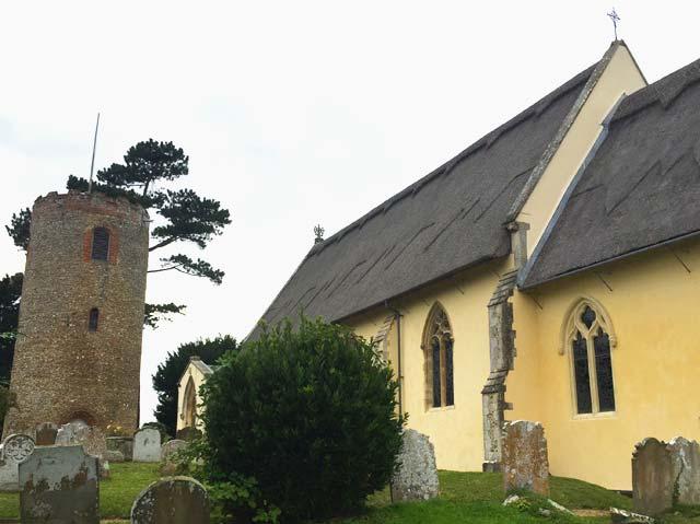 Bramfield St Andrew round tower