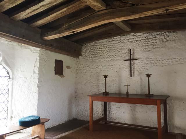 Blythborough Holy Trinity church - priest's room